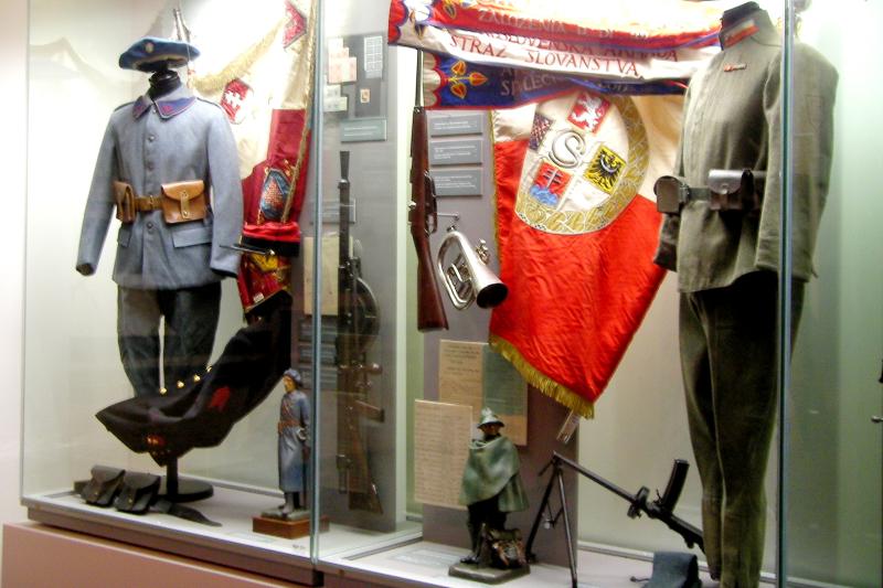 Prag Ulusal Müzesi Cumhuriyet sergisi