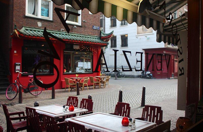 Amsterdam'da bir pizzacı