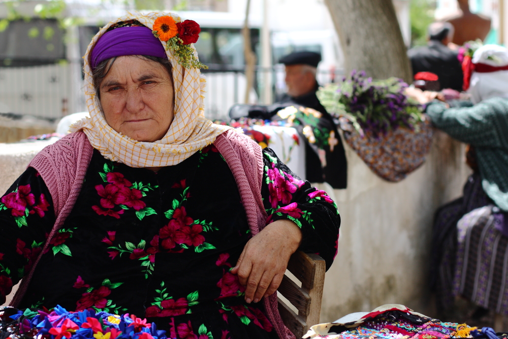 Çomakdağ'lı kadınlar