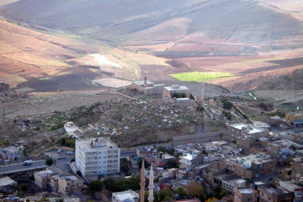 Mardin kalesinden manzara
