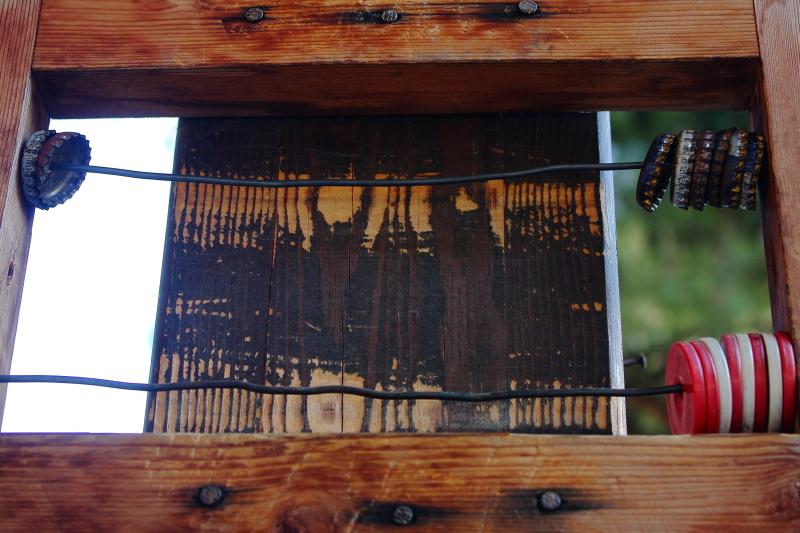 karambolün gazoz kapaklarından skor panosu