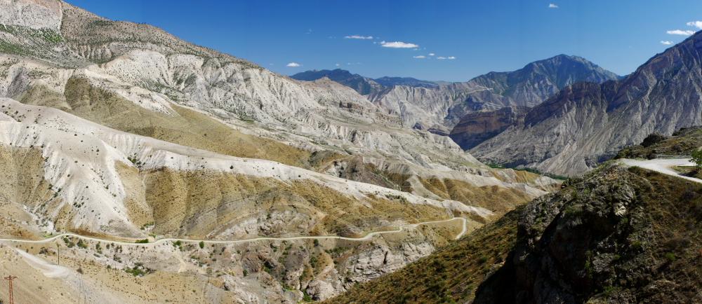 altı uçurum olan çardaktan panoramik manzara