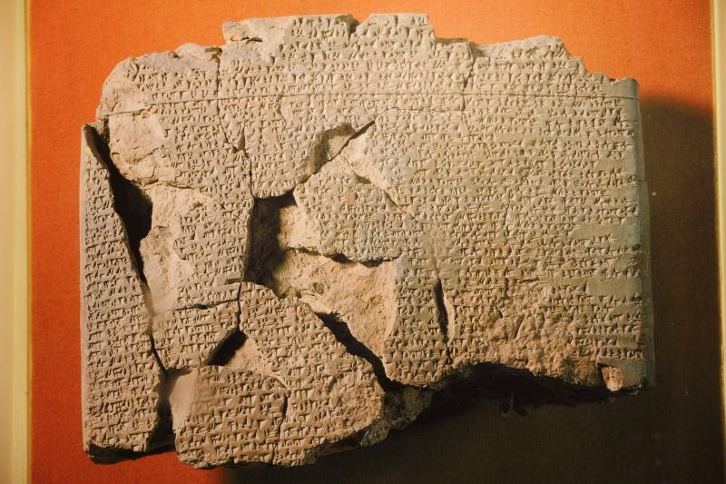 Tarihin bilinen ilk barış anlaşması olan Kadeş Anlaşması tableti