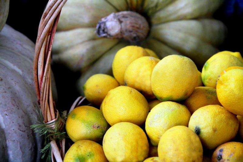 Saip Kır Kahvesi'nin limonları