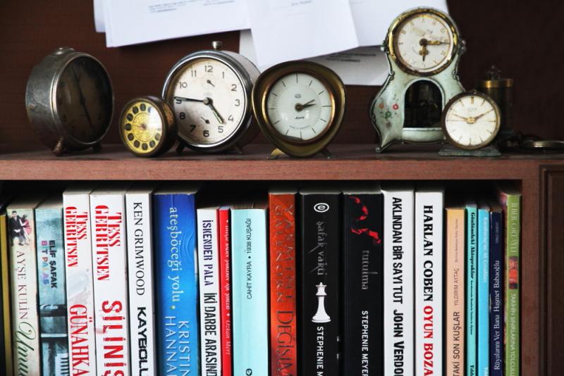 Saip kır kahvesinin kitapları