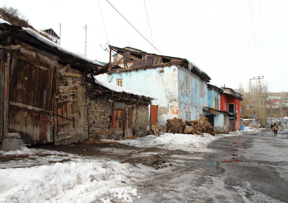 eski Kars sokakları
