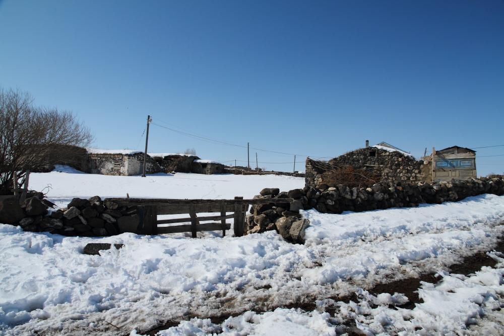 Subatan Köyü evleri