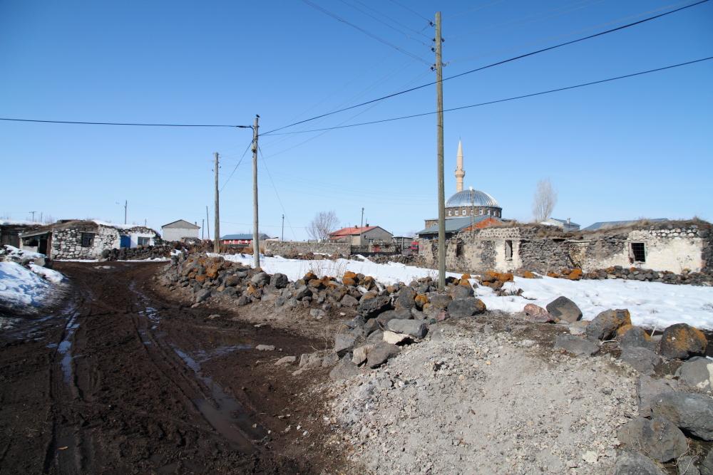 Subatan Köyü sokakları