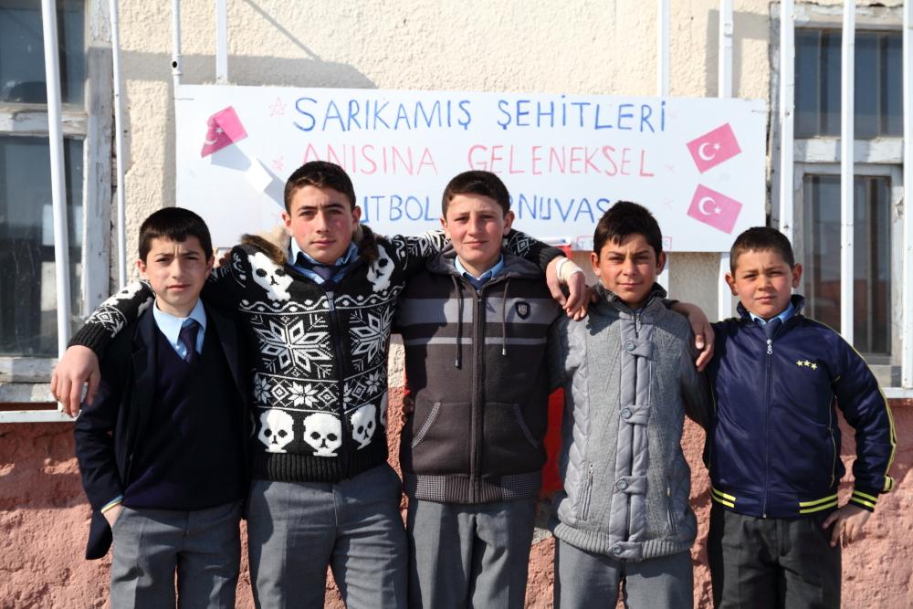 Subatan Köyü'nün gençleri