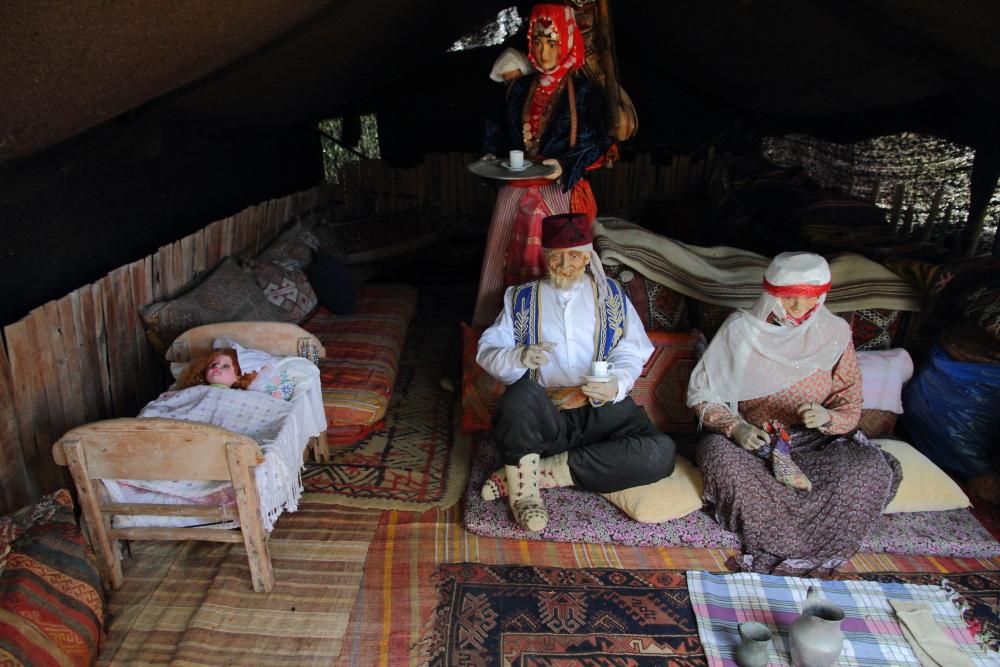 sembolik bir yörük çadırı, Folklorik Yörük Parkı