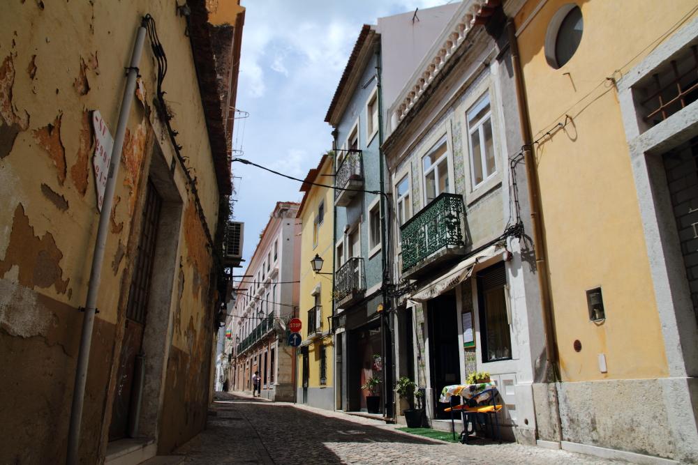 Setubal sokakları