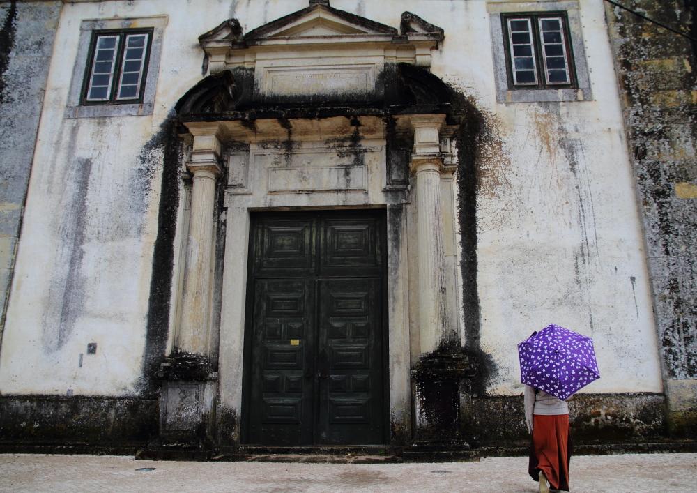 Tomar Katedrali'nin (Convento de Cristo) kapısında kaldık!