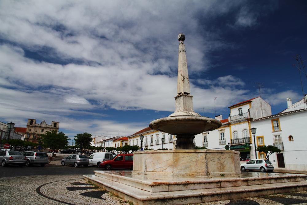 Vila Viçosa meydanı