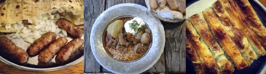 Balkanlar'ın leziz menüsü!