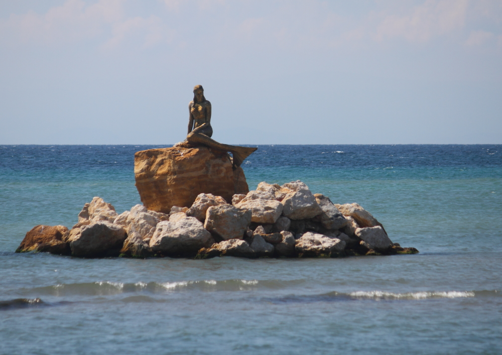 Şarköy'ün deniz kızı