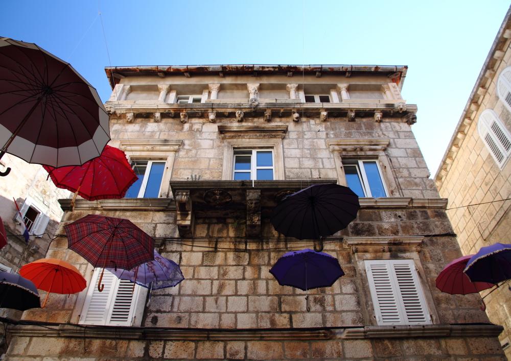 Korcula'nın şemsiyeleri