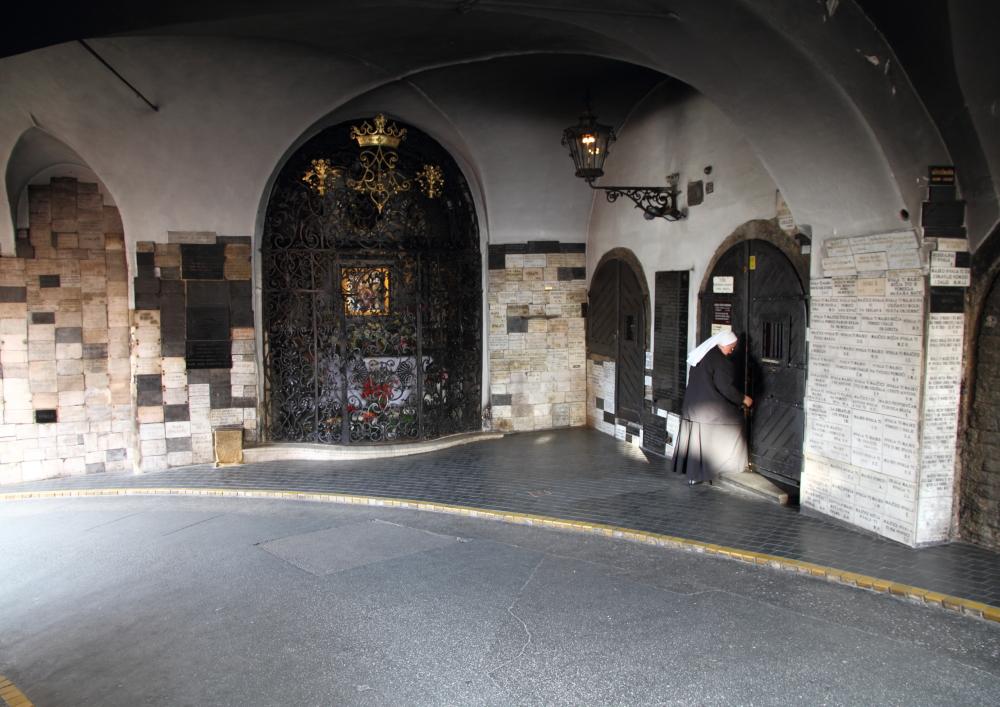 Zagreb Yukarı Şehir Taş Kapısı