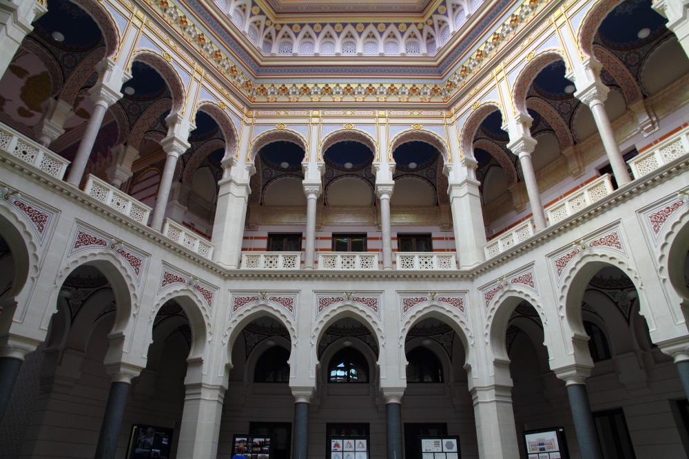 Saray Bosna Belediye Binası (eski milli kütüphane)