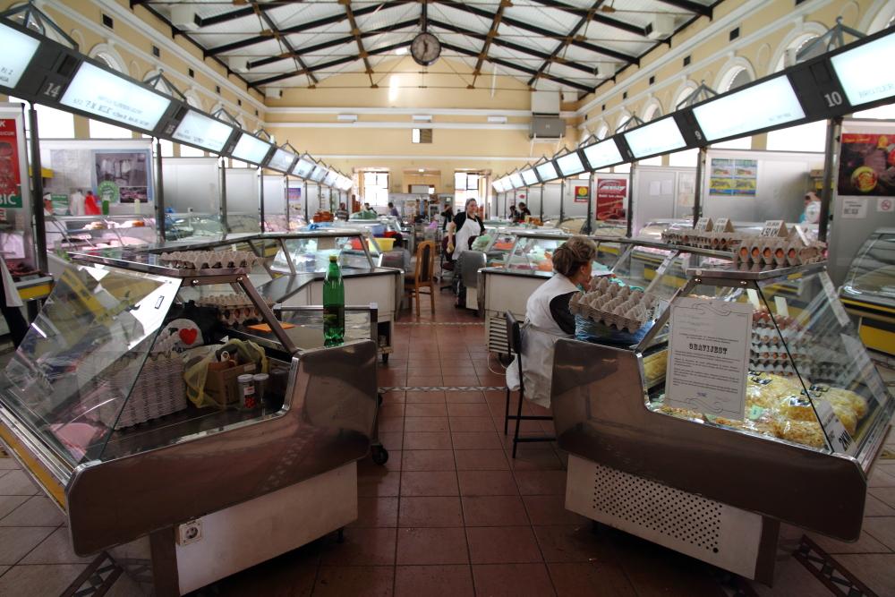 Saraybosna Şehir marketi - hal