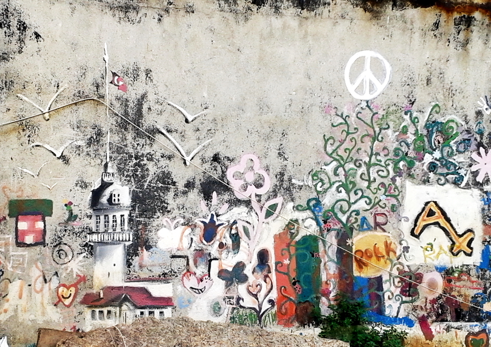 Kuzguncuk sokaklarında sanat var!