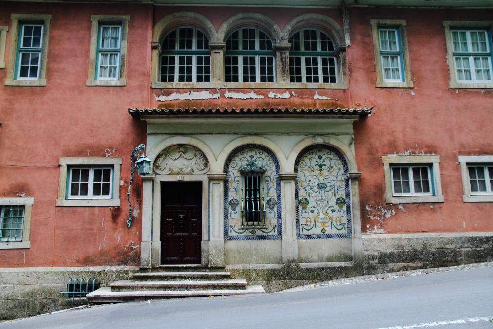 Sintra sokaklarında