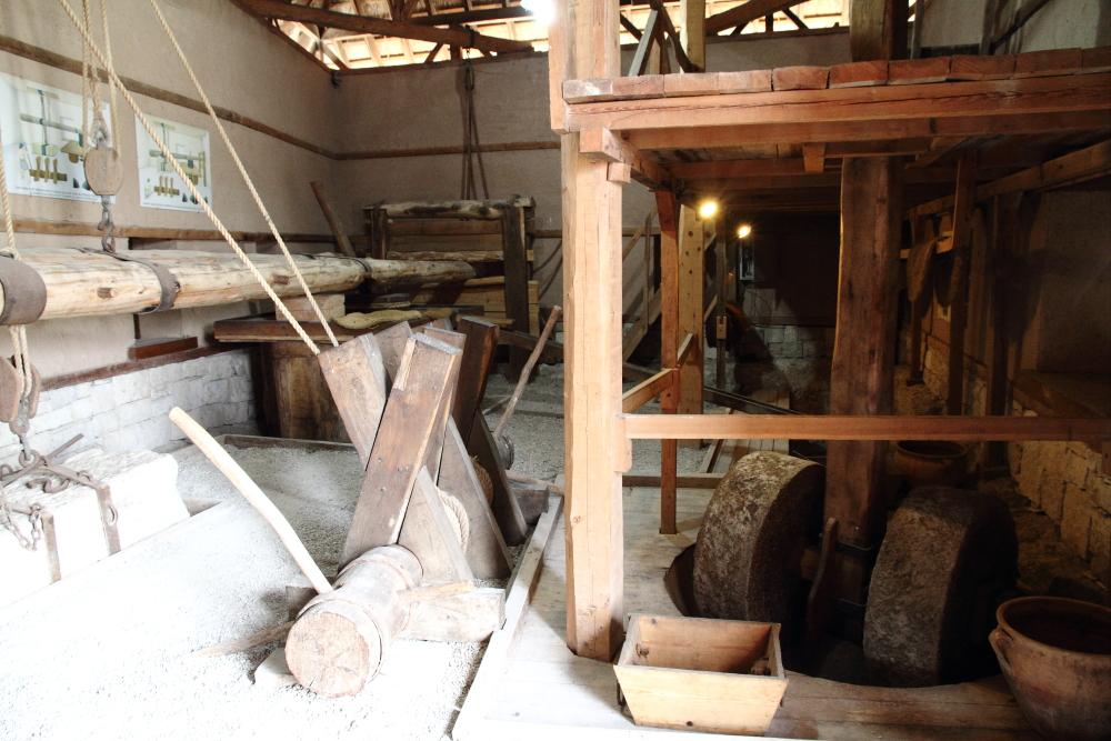 Klazomenia antik kenti zeytinyağı fabrikası rekonstrüksiyon müzesi