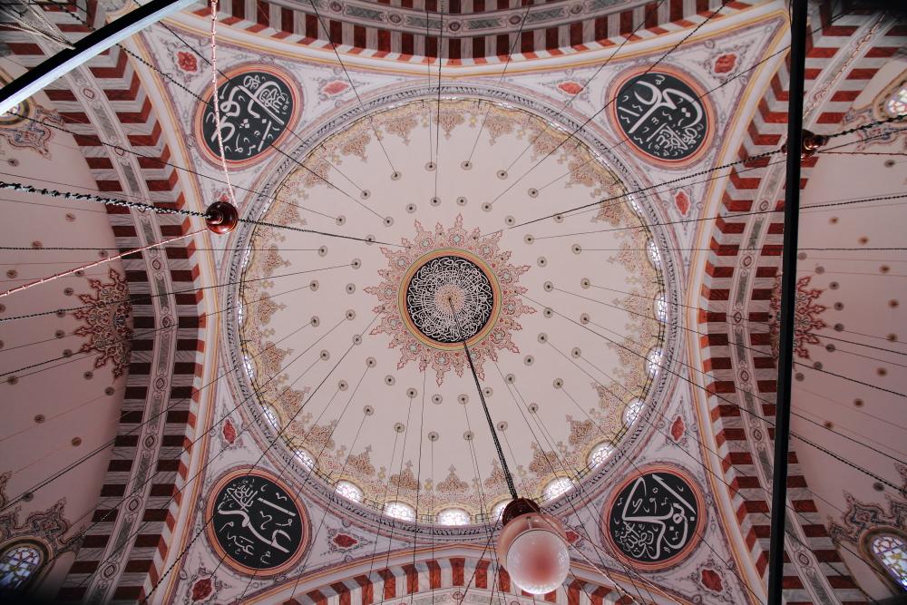 Fatih Camii kubbesi
