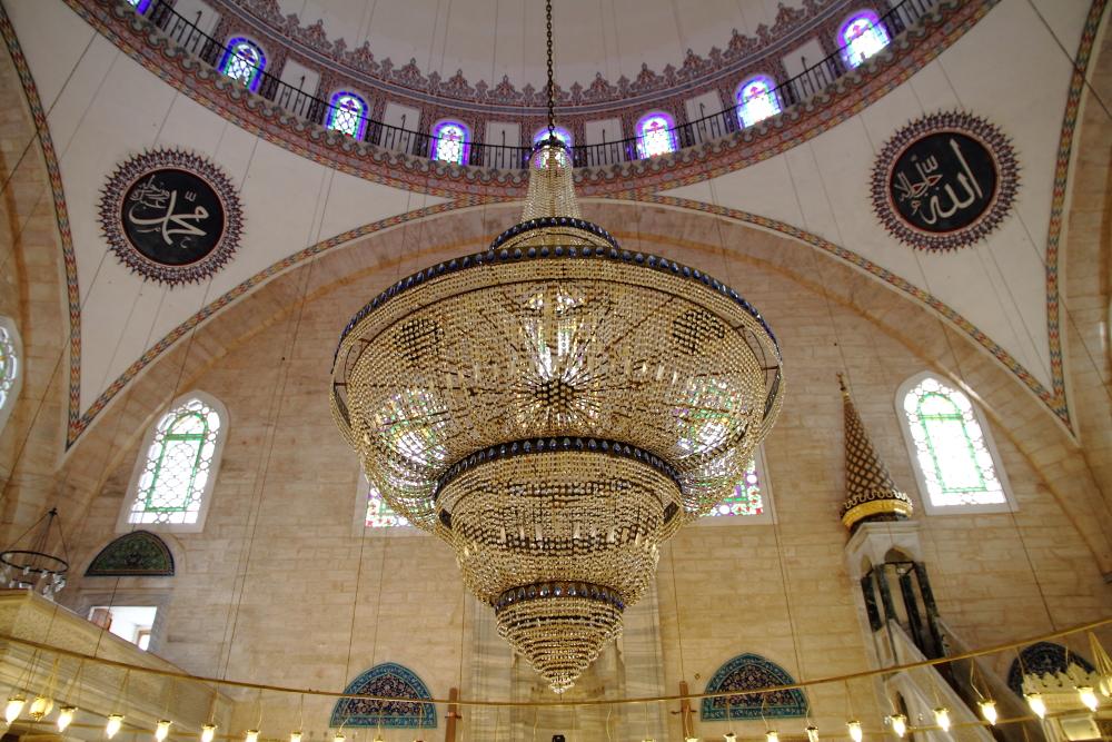 Yavuz Selim Camii kubbesi