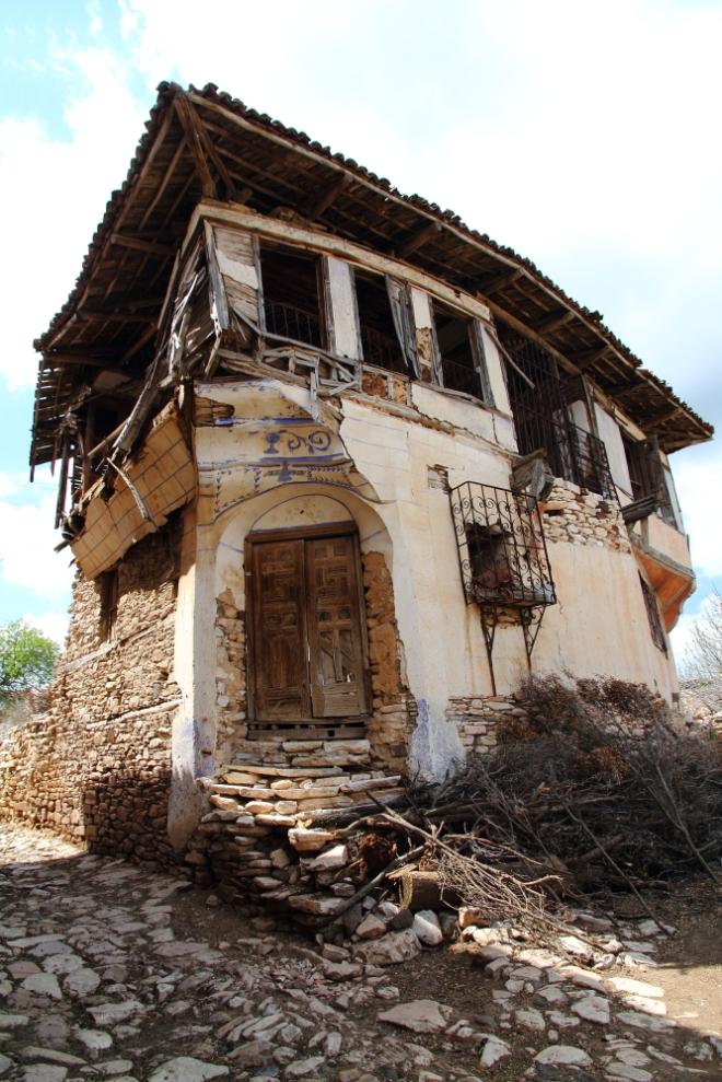 İncesu Köyü'nün tarihi evleri