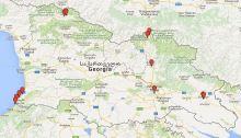 Gürcistan haritası