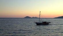 Kalkan Limanı'nda gün batımı